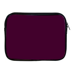 Black Cherry Solid Color Apple Ipad 2/3/4 Zipper Cases by SimplyColor