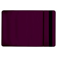 Black Cherry Solid Color Ipad Air 2 Flip by SimplyColor