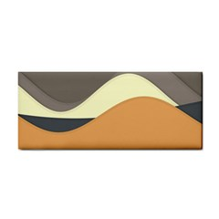Wave Chevron Waves Material Cosmetic Storage Cases by Mariart