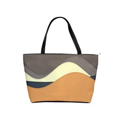 Wave Chevron Waves Material Shoulder Handbags by Mariart