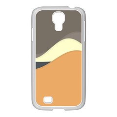 Wave Chevron Waves Material Samsung Galaxy S4 I9500/ I9505 Case (white) by Mariart