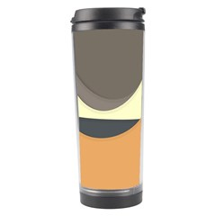 Wave Chevron Waves Material Travel Tumbler by Mariart