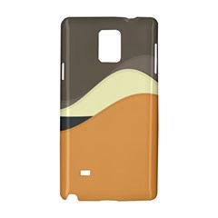 Wave Chevron Waves Material Samsung Galaxy Note 4 Hardshell Case by Mariart