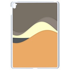 Wave Chevron Waves Material Apple Ipad Pro 9 7   White Seamless Case by Mariart