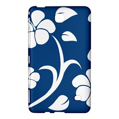 Blue Hawaiian Flower Floral Samsung Galaxy Tab 4 (7 ) Hardshell Case  by Mariart