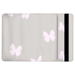 Butterfly Silhouette Organic Prints Linen Metallic Synthetic Wall Pink Ipad Air 2 Flip by Mariart