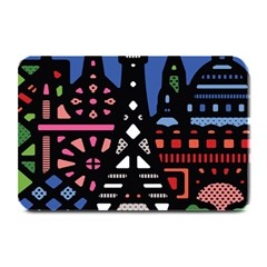7 Wonders World Plate Mats by Mariart
