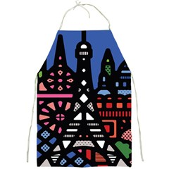 7 Wonders World Full Print Aprons