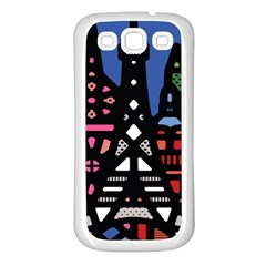 7 Wonders World Samsung Galaxy S3 Back Case (white) by Mariart