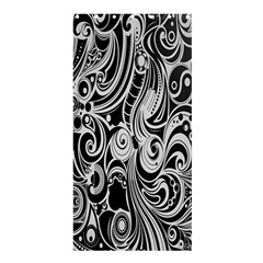 Black White Shape Shower Curtain 36  X 72  (stall)  by Mariart