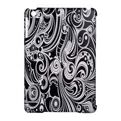 Black White Shape Apple Ipad Mini Hardshell Case (compatible With Smart Cover) by Mariart