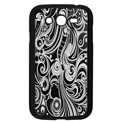 Black White Shape Samsung Galaxy Grand Duos I9082 Case (black) by Mariart