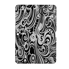 Black White Shape Samsung Galaxy Tab 2 (10 1 ) P5100 Hardshell Case  by Mariart