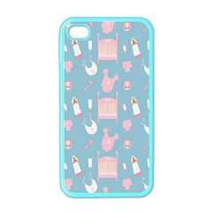 Baby Girl Accessories Pattern Pacifier Apple Iphone 4 Case (color)