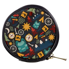 Compass Cypress Chair Arrow Wheel Star Mountain Mini Makeup Bags by Mariart