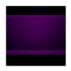 Board Purple Line Tile Coasters by Mariart