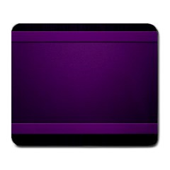 Board Purple Line Large Mousepads by Mariart