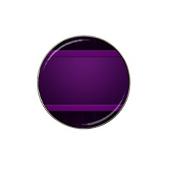 Board Purple Line Hat Clip Ball Marker by Mariart