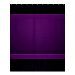 Board Purple Line Shower Curtain 60  X 72  (medium)  by Mariart