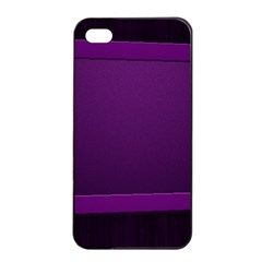 Board Purple Line Apple Iphone 4/4s Seamless Case (black) by Mariart