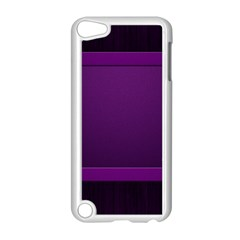 Board Purple Line Apple Ipod Touch 5 Case (white) by Mariart