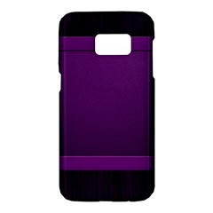 Board Purple Line Samsung Galaxy S7 Hardshell Case  by Mariart