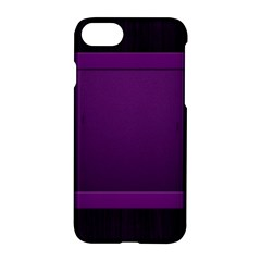 Board Purple Line Apple Iphone 7 Hardshell Case by Mariart
