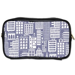Building Citi Town Cityscape Toiletries Bags 2 Side by Mariart
