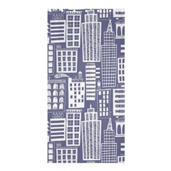 Building Citi Town Cityscape Shower Curtain 36  X 72  (stall)  by Mariart