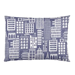 Building Citi Town Cityscape Pillow Case (two Sides)