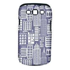 Building Citi Town Cityscape Samsung Galaxy S Iii Classic Hardshell Case (pc+silicone) by Mariart