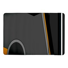 Flag Grey Orange Circle Polka Hole Space Samsung Galaxy Tab Pro 10 1  Flip Case by Mariart