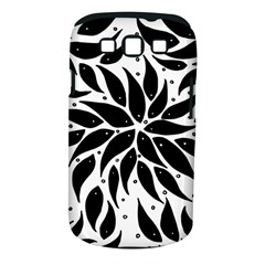 Flower Fish Black Swim Samsung Galaxy S Iii Classic Hardshell Case (pc+silicone) by Mariart