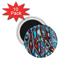 Dizzy Stone Wave 1 75  Magnets (10 Pack)  by Mariart