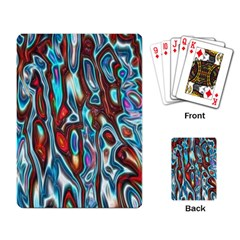 Dizzy Stone Wave Playing Card by Mariart