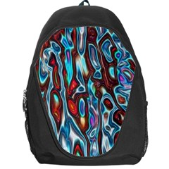 Dizzy Stone Wave Backpack Bag by Mariart