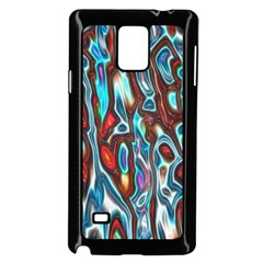 Dizzy Stone Wave Samsung Galaxy Note 4 Case (black) by Mariart