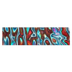 Dizzy Stone Wave Satin Scarf (oblong) by Mariart
