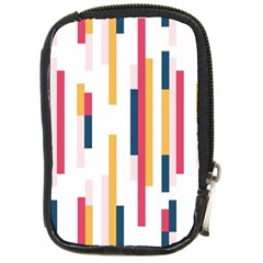 Geometric Line Vertical Rainbow Compact Camera Cases by Mariart