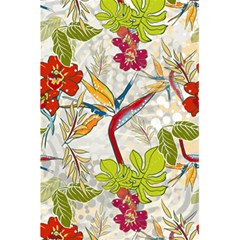 Flower Floral Red Green Tropical 5 5  X 8 5  Notebooks by Mariart