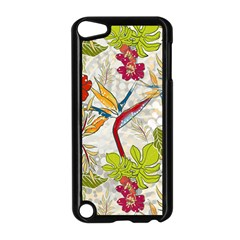 Flower Floral Red Green Tropical Apple Ipod Touch 5 Case (black) by Mariart