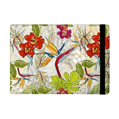 Flower Floral Red Green Tropical Ipad Mini 2 Flip Cases by Mariart