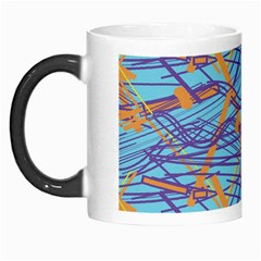 Geometric Line Cable Love Morph Mugs by Mariart