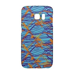 Geometric Line Cable Love Galaxy S6 Edge