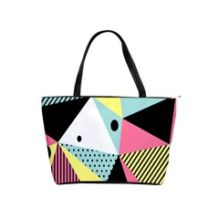 Geometric Polka Triangle Dots Line Shoulder Handbags by Mariart