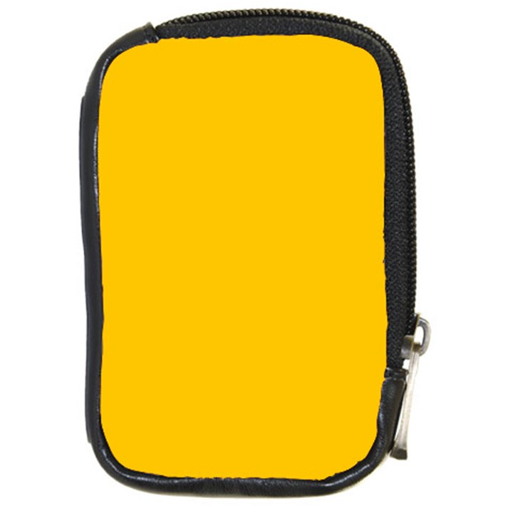 Amber Solid Color  Compact Camera Cases