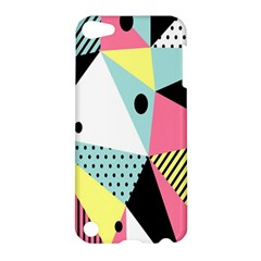 Geometric Polka Triangle Dots Line Apple Ipod Touch 5 Hardshell Case by Mariart