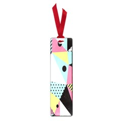 Geometric Polka Triangle Dots Line Small Book Marks by Mariart
