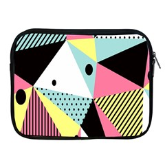 Geometric Polka Triangle Dots Line Apple Ipad 2/3/4 Zipper Cases by Mariart
