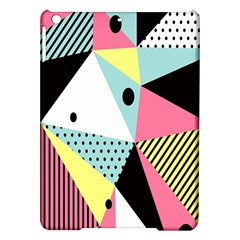 Geometric Polka Triangle Dots Line Ipad Air Hardshell Cases by Mariart